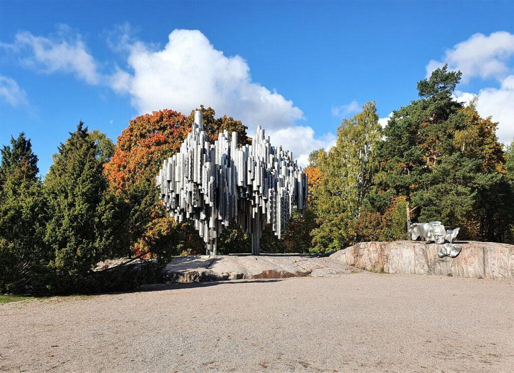 Sibelius-monument Helsinki