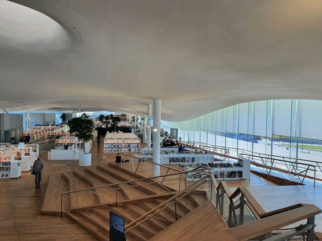 Oodi bibliotheek Helsinki