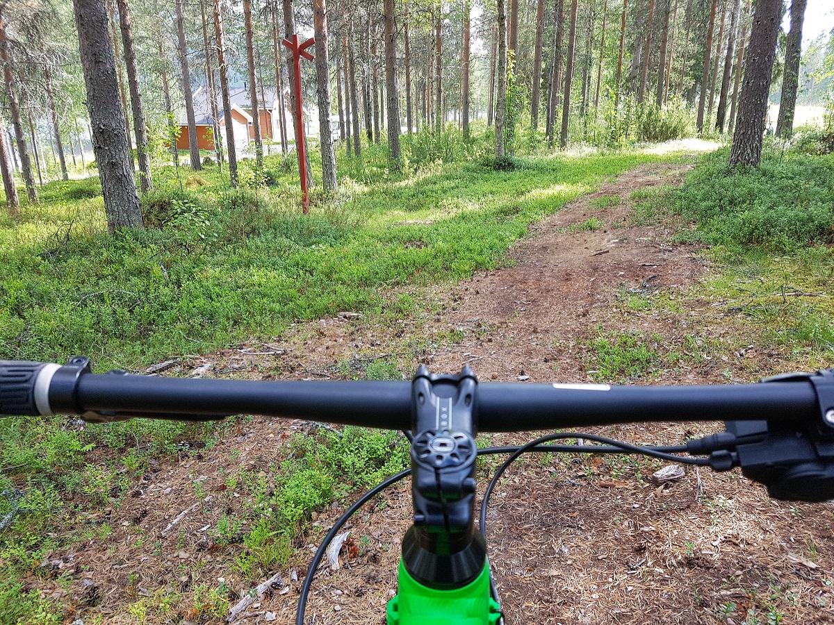 fietsen op een fatbike