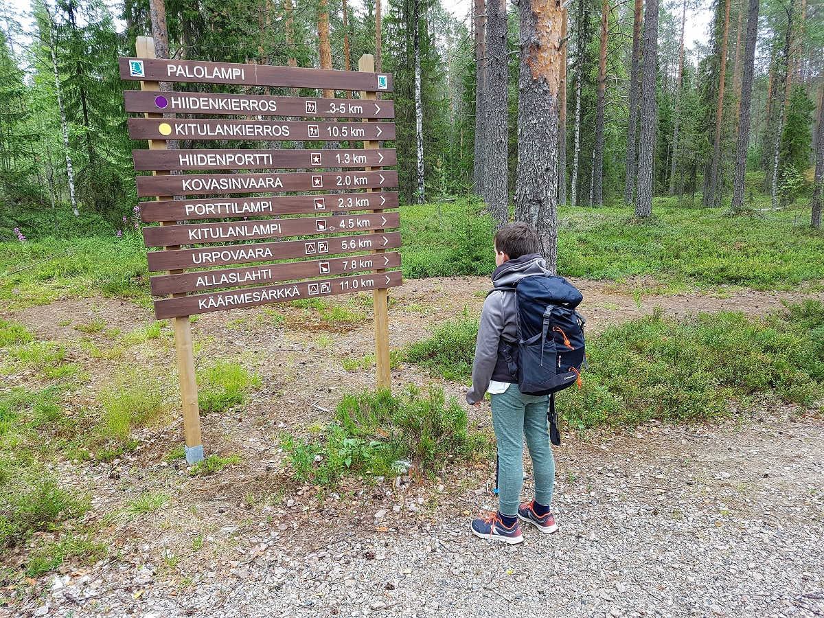 nationaal park hiidenportti