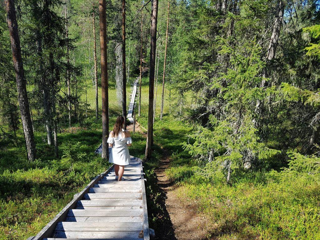 wandelen nationaal park hossa