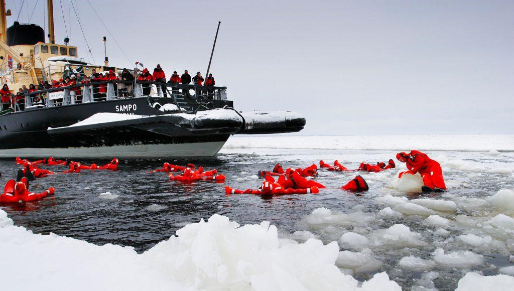 ijsdrijven in finland