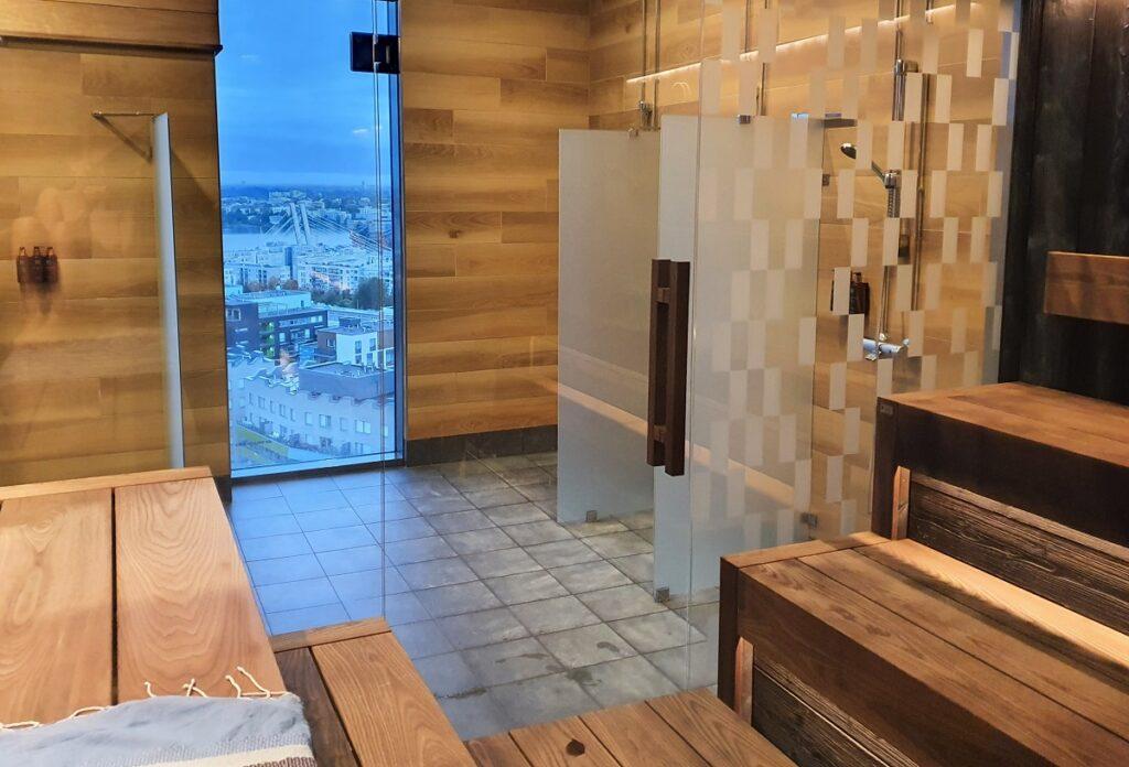 Clarion Hotel Helsinki sauna
