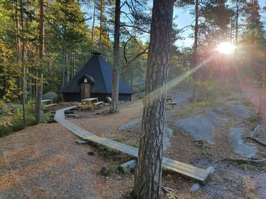 natuurcentrum Haltia in nationaal park Nuuksio